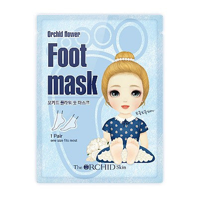 Orchid Flower Foot Mask