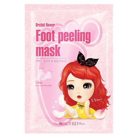 Foot Peeling Mask - The ORCHID Skin 디오키드스킨