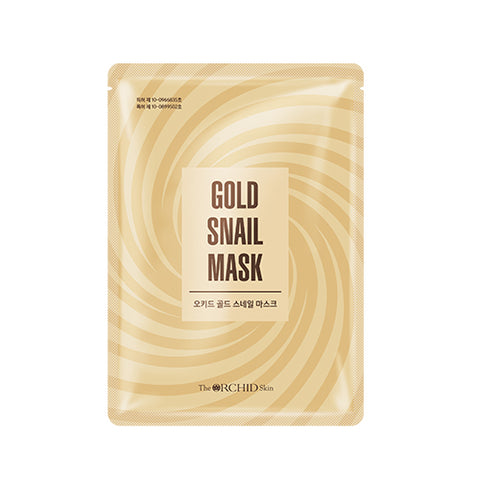 ORCHID Gold Snail Mask