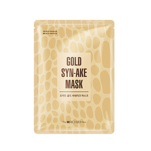 ORCHID Gold Syn-ake Mask