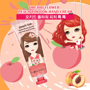 Peach TOK TOK Hand Cream - The ORCHID Skin 디오키드스킨