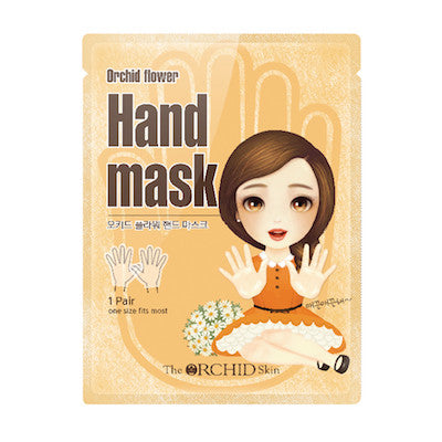 Orchid Flower Hand Mask