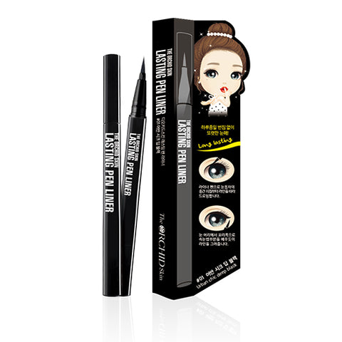 Lasting Pen Liner #01 Urban Chic Deep Black - The ORCHID Skin 디오키드스킨