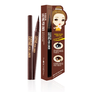 Lasting Pen Liner #02 Dark Choco brown - The ORCHID Skin 디오키드스킨