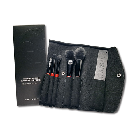 Magnetic Makeup Brush Traveler Set - The ORCHID Skin 디오키드스킨