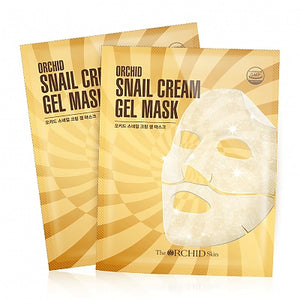 ORCHID Snail Cream Gel Mask