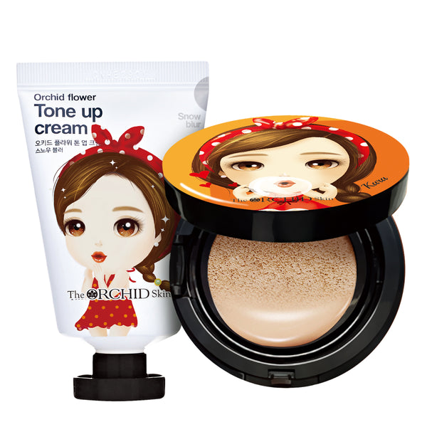 Tone Up Cream #Snow Blur - The ORCHID Skin 디오키드스킨