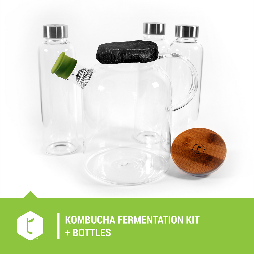 Kombucha fermentation kit