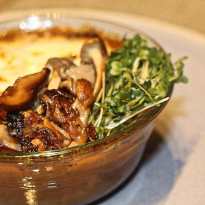 Vegan French Onion Soup with Wild Mushrooms