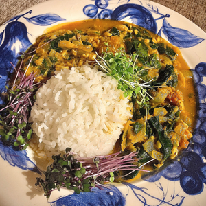 Cardamom Curry with Basmati Rice