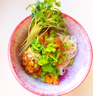Thai Ginger Chicken Meatballs
