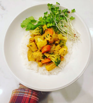 Yellow Curry with Chicken & Vegetables