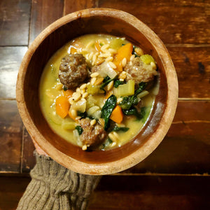 Italian Wedding Soup [Gluten Free]