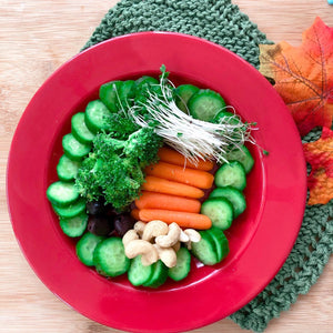 Fall into Health Veggie Plate
