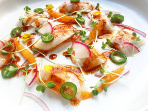 Fresh and Clean Sea Bass Recipe Is Perfect For Summer | Summer Crudo