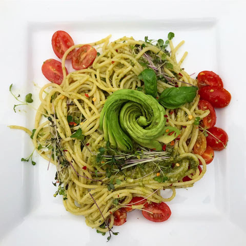Sophak Op‎_Super Salad Pesto Pasta_HamamaRecipes_12.13.19