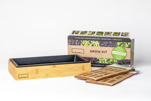 Microgreen Kit with Bamboo Frame - Case of 20 - Flash Sale!