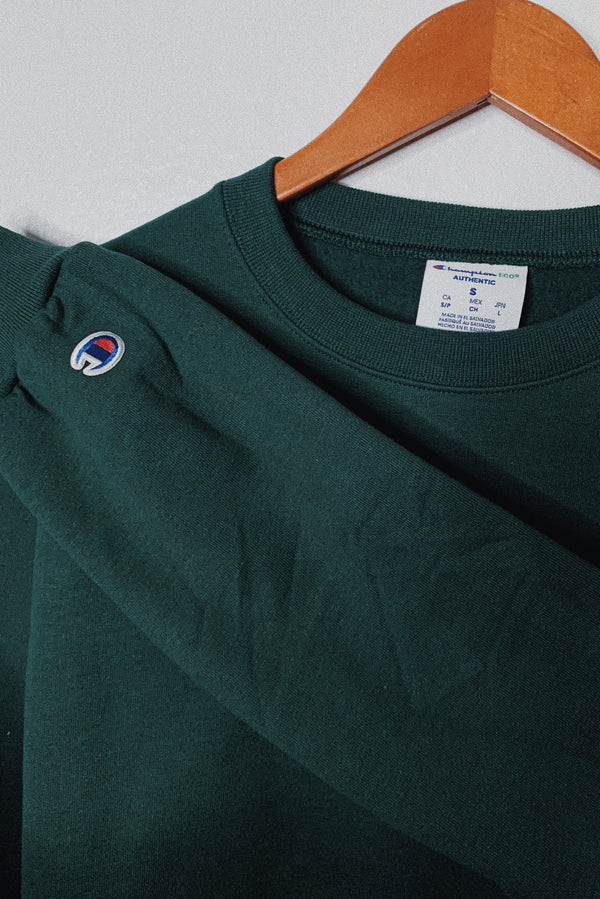 (L) Champion Green Sweater