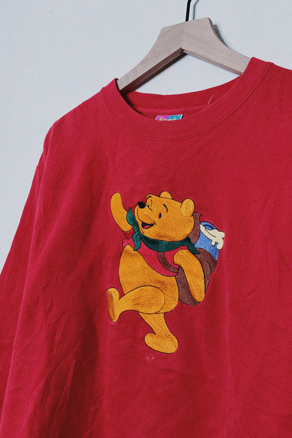 (L) Pooh's Backpack of Hunny Sweater