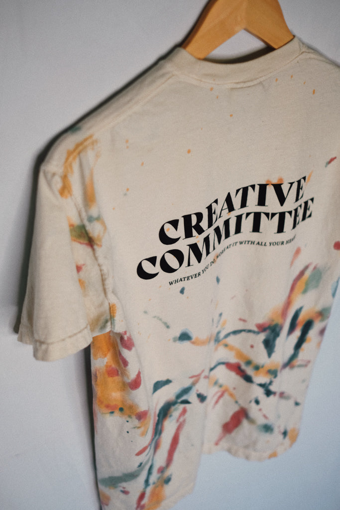 Creative Committee Ivory Canvas Unisex T-Shirt