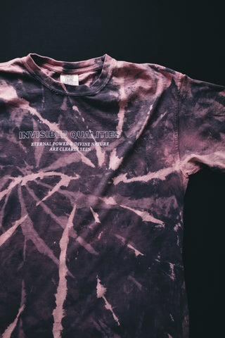 Invisible Qualities Indigo Haze Tie-Dye Unisex T-Shirt