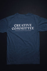 Creative Committee Space Blue Unisex T-Shirt