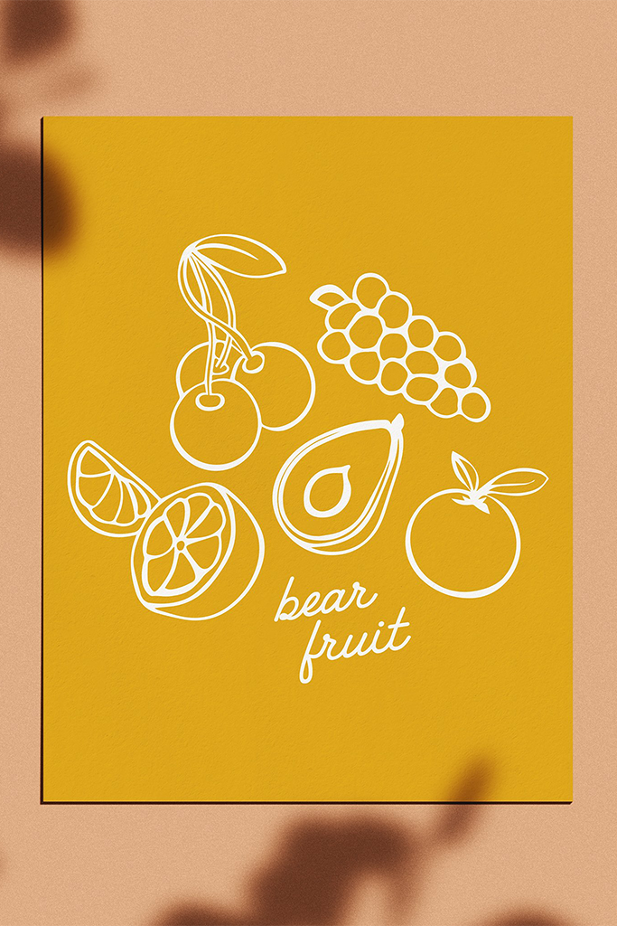 Bear Fruit Poster