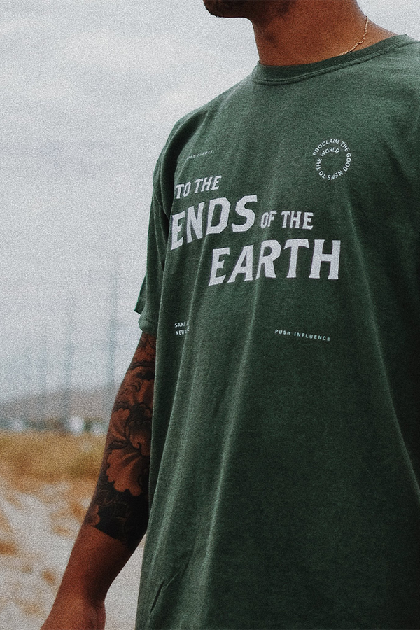 Ends of the Earth Pine Green Unisex T-Shirt
