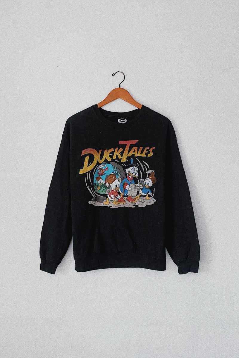 (M) Disney's Duck Tales Pullover Sweater