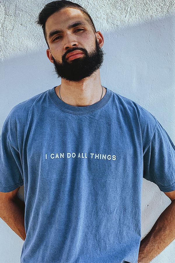 I Can Do All Things Cambridge Blue Unisex T-Shirt