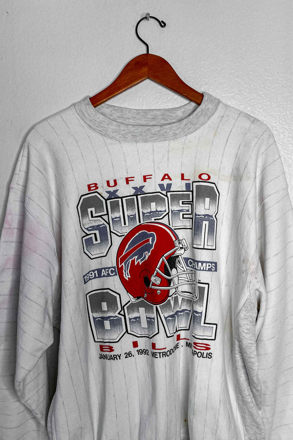 (XL) Vintage Single Stitch 1992 Super Bowl XXVI Crewneck Sweater