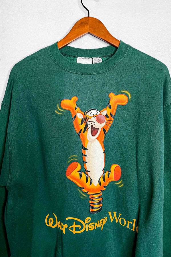 (M) Vintage Single Stitch Tigger Disney World Crewneck Sweater