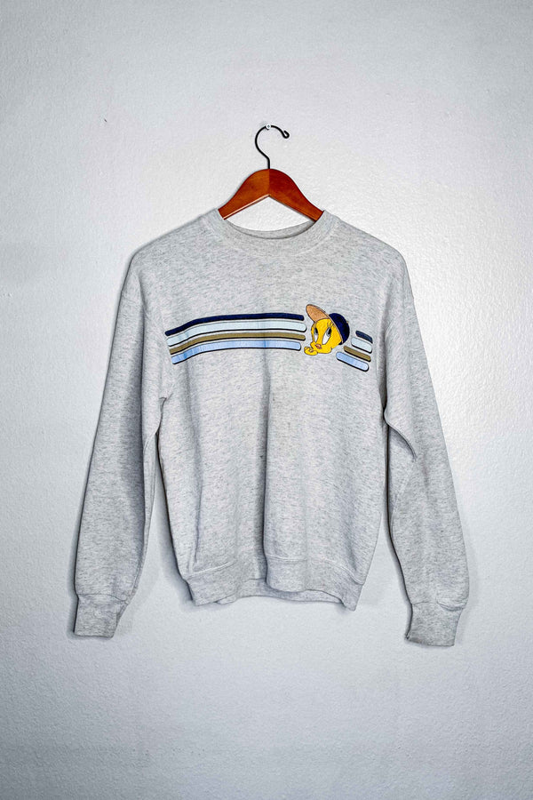 (M) Vintage Single Stitch Tweety Bird Crewneck Sweater