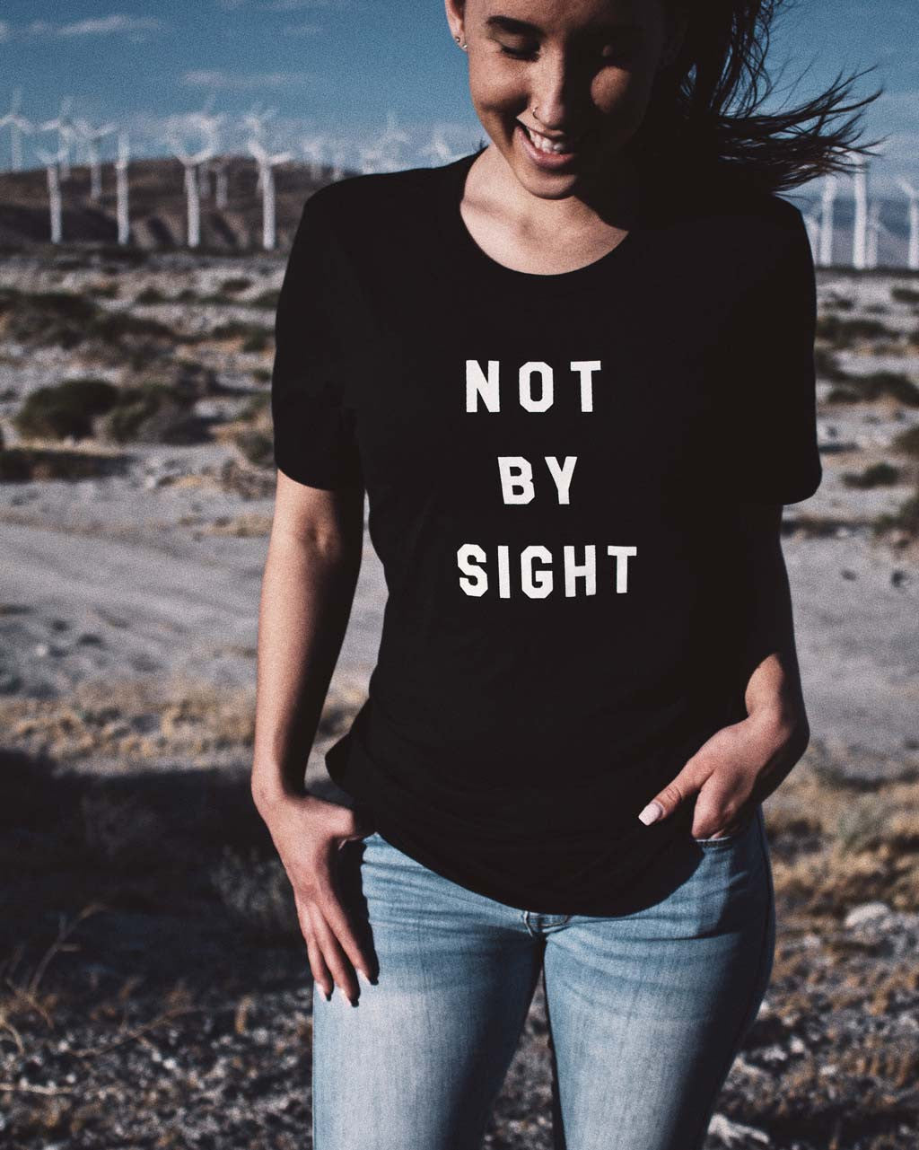 Not by Sight Unisex Tee
