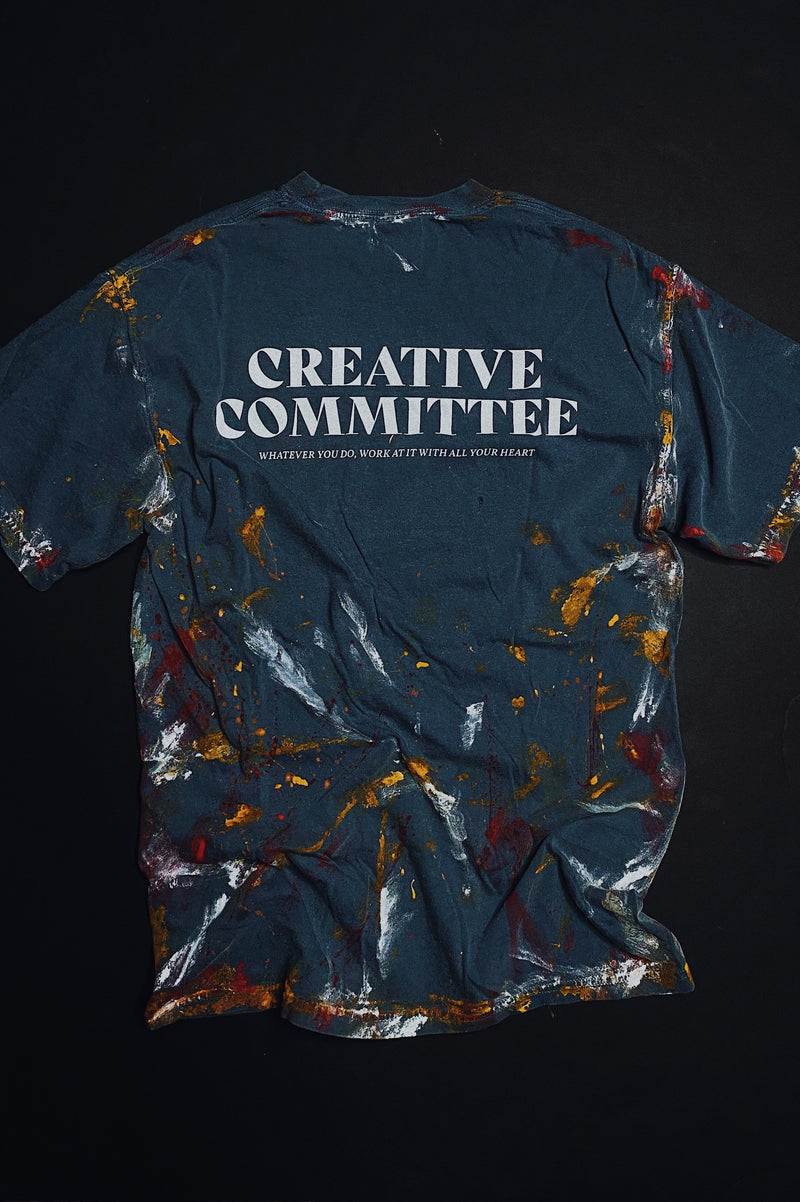 Creative Committee Space Blue Workers Unisex T-Shirt
