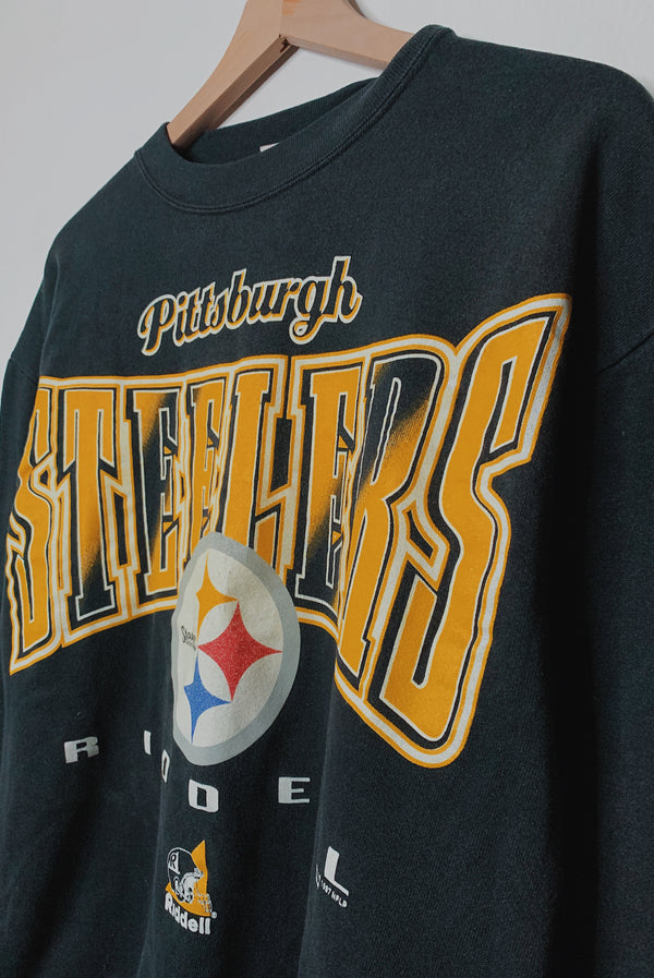 (M) Vintage Steelers Pullover Sweater