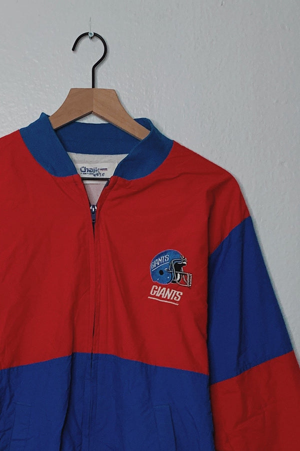 (L) Vintage New York Giants Embroidered Jacket