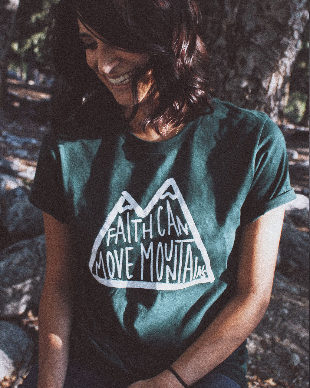 Faith Moves Mountains Unisex Tee