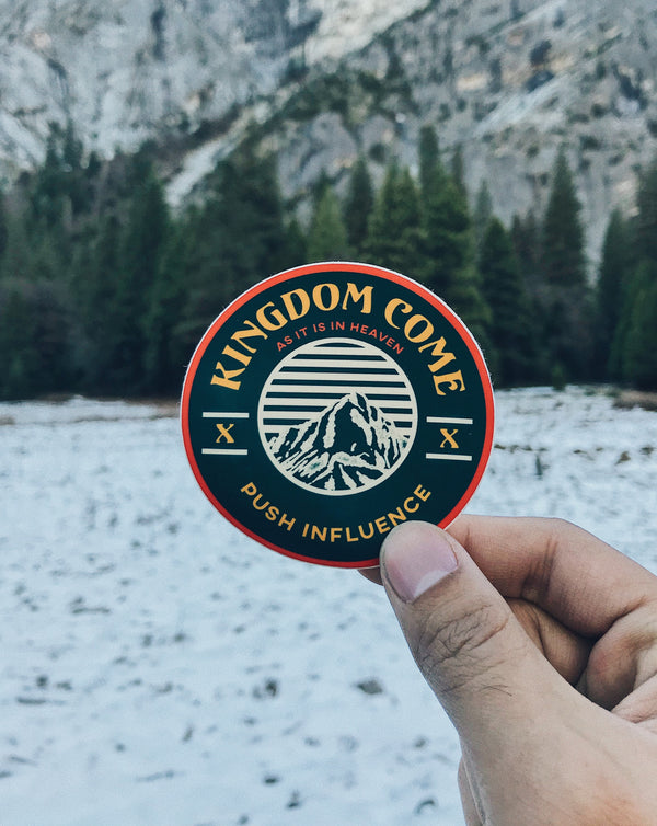 Kingdom Come Sticker