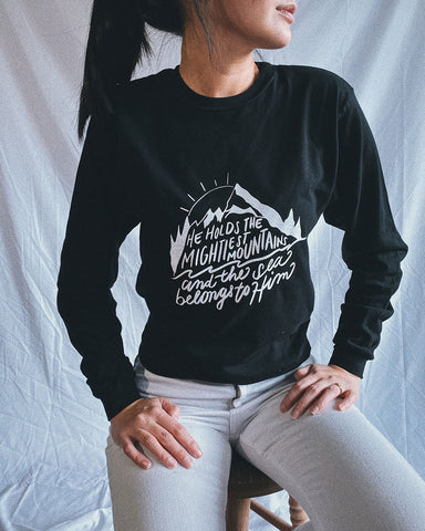 Mightiest Mountains Unisex Long Sleeve Tee