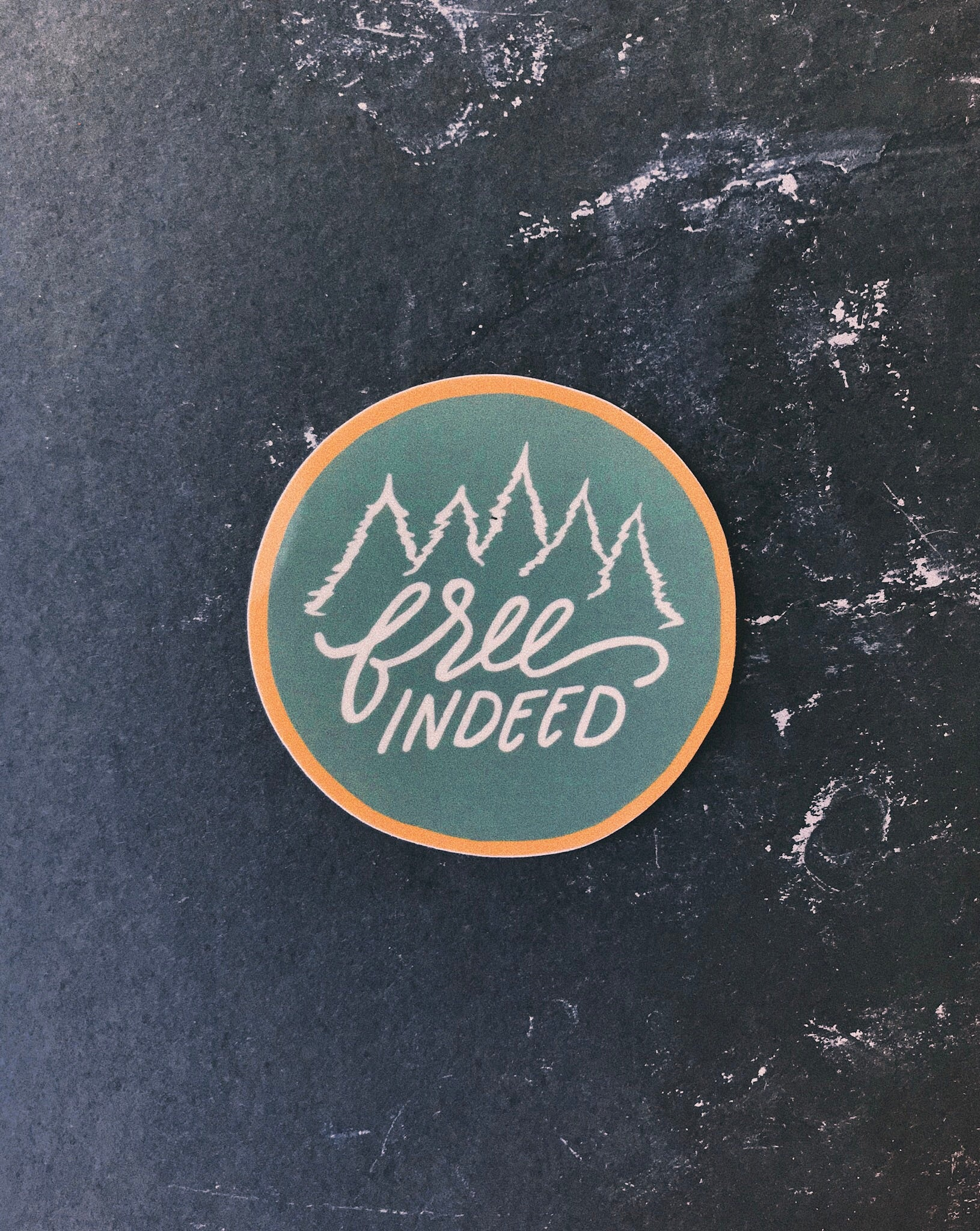 Free Indeed Sticker