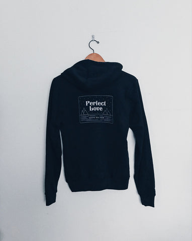 Perfect Love Unisex Black Hoodie Sweater