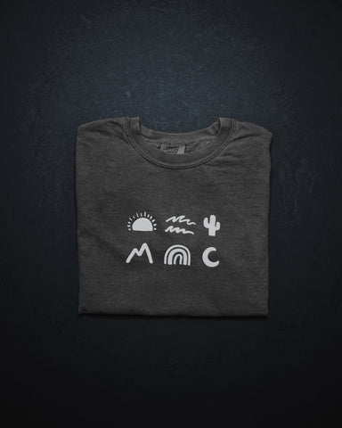 Creation Symbols Iron Gray Unisex T-Shirt