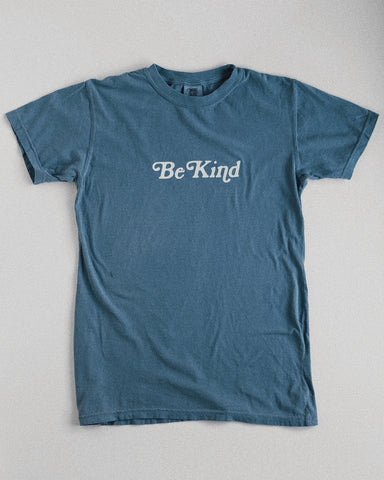 Be Kind Cambridge Blue Unisex T-Shirt