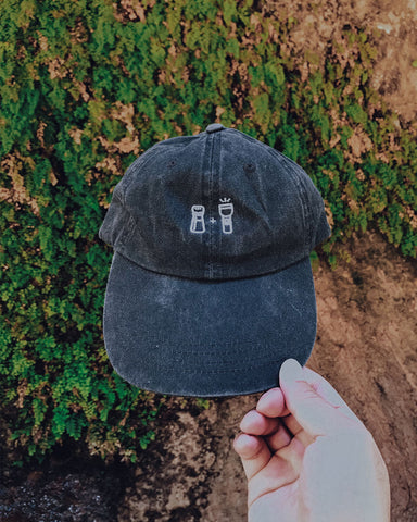 Salt and Light Dad Hat - Charcoal
