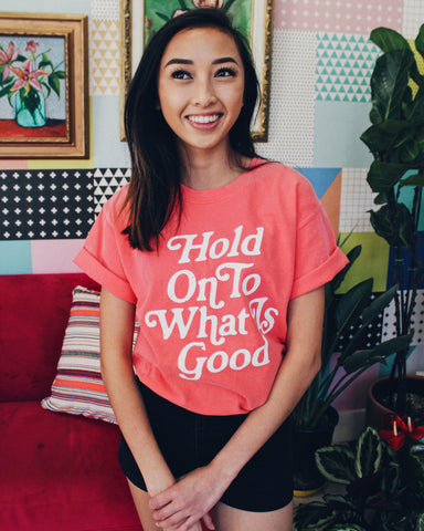 Hold on to What is Good Unisex Rouge T-Shirt