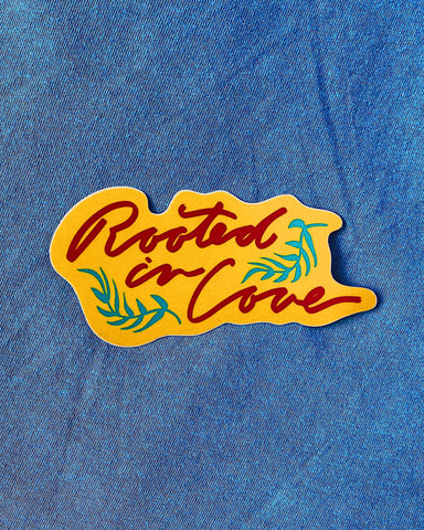 Rooted in Love Sticker