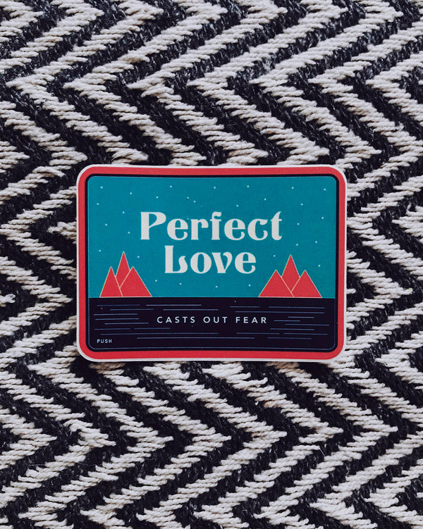 Perfect Love Sticker