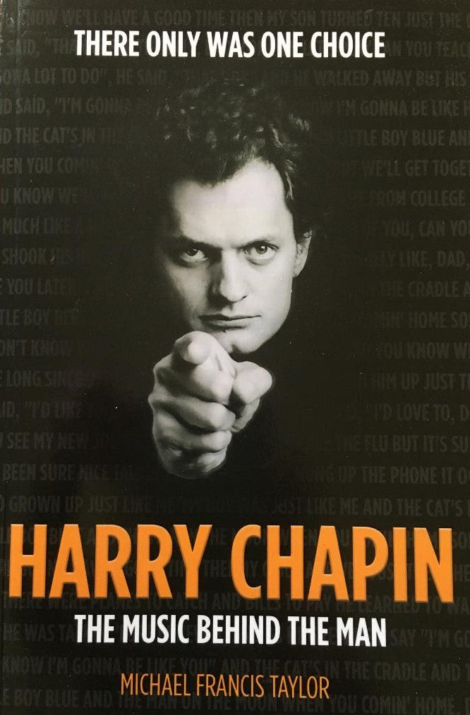 NEW BOOK AVAILABLE! Harry Chapin The Music Behind the Man