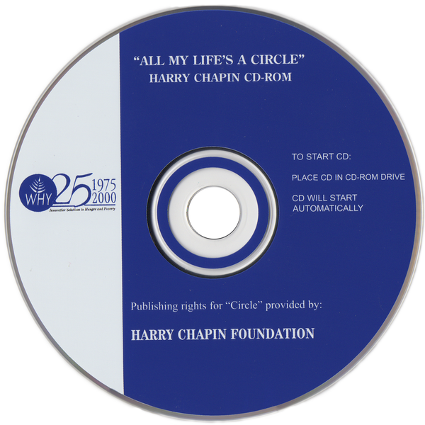All My Life's a Circle CD-Rom – Harry Chapin Music